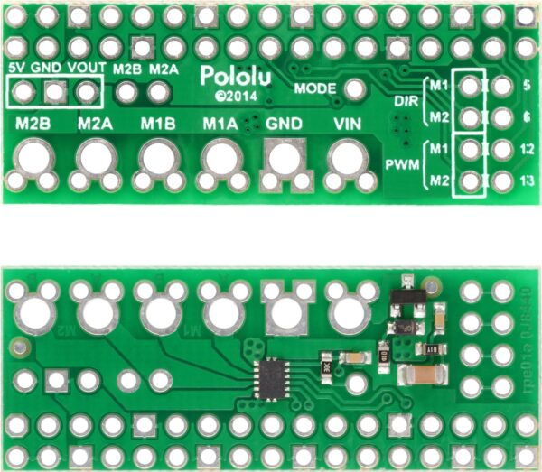 Pololu DRV8835 Dual Motor Driver Kit for Raspberry Pi B+-2859