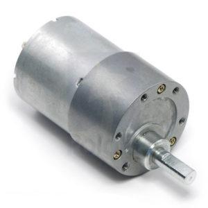 50:1 37D Motor-gearbox 12v