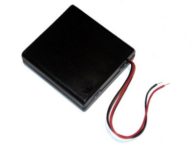 4x AAA Battery Box with Switch