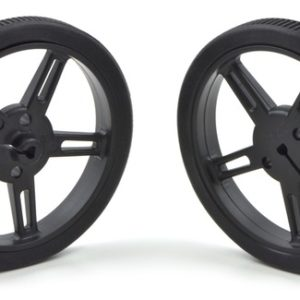 Pololu 60mm x 8 mm Wheel (pair) - Black