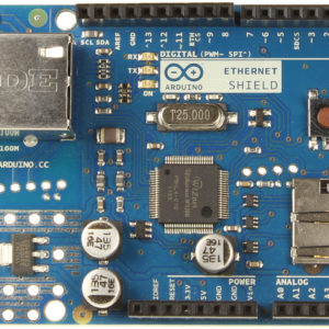 Arduino Ethernet Shield front