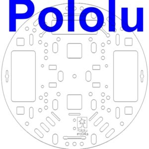 Pololu 5 inch Round Chassis (Clear)