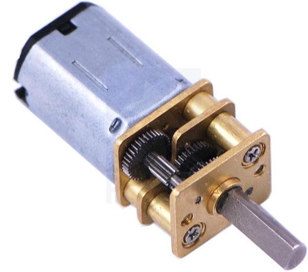 75:1 High Power Micro Motor + Gearbox