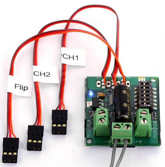 Sabertooth Dual 5A R/C 6-18V Regenerative Motor Driver (R/C)
