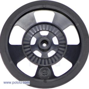 69mm Servo Wheel (Black)