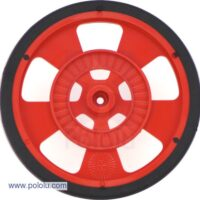 69mm Servo Wheel (Red)