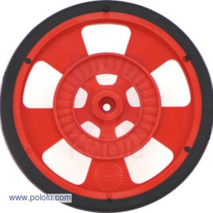 69mm Servo Wheel (Red)