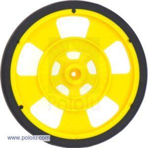 69mm Servo Wheel (Yellow)