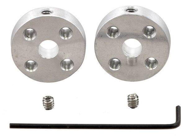 4mm Universal Wheel Hub (pair)