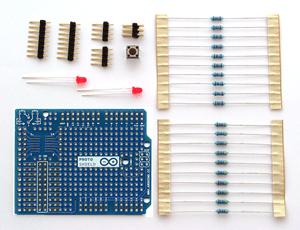 Arduino Prototyping Shield Kit-0