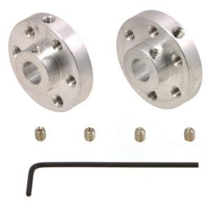 6mm Universal Wheel Hub (pair)-0