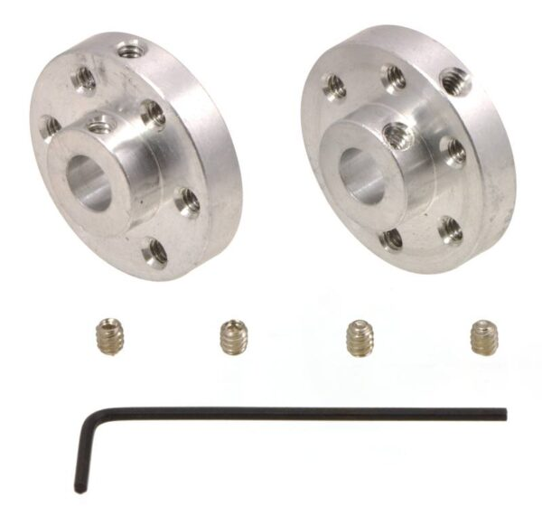 6mm Universal Wheel Hub (pair)-0