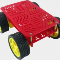 Dagu 4WD Chassis - Red