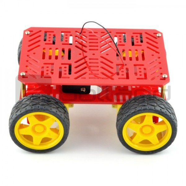 Dagu 4WD Chassis - Side View
