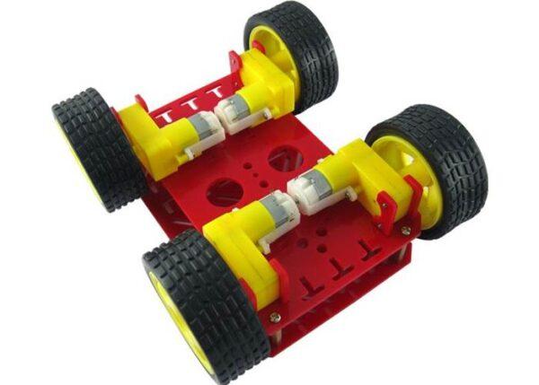 Dagu 4WD Chassis - Underside