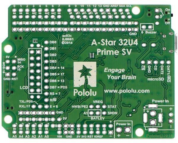 Pololu A-Star 32U4 Prime SV