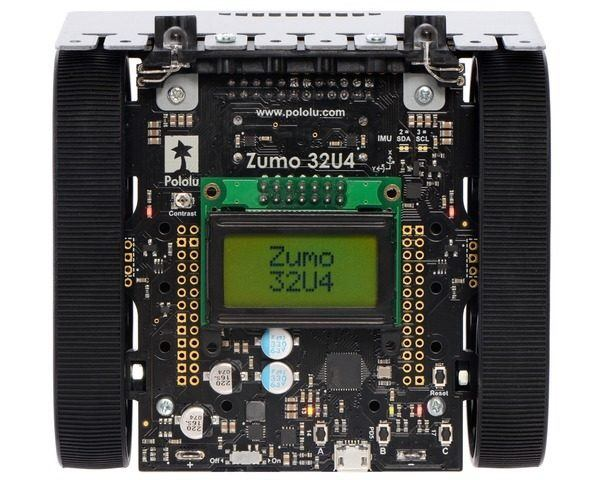 Pololu Zumo 32U4 Robot (Assembled with 75:1 HP Motors)