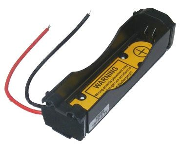 Battery Holder : Li-Ion 18650 Battery Holder (1S1P) With PCB-0