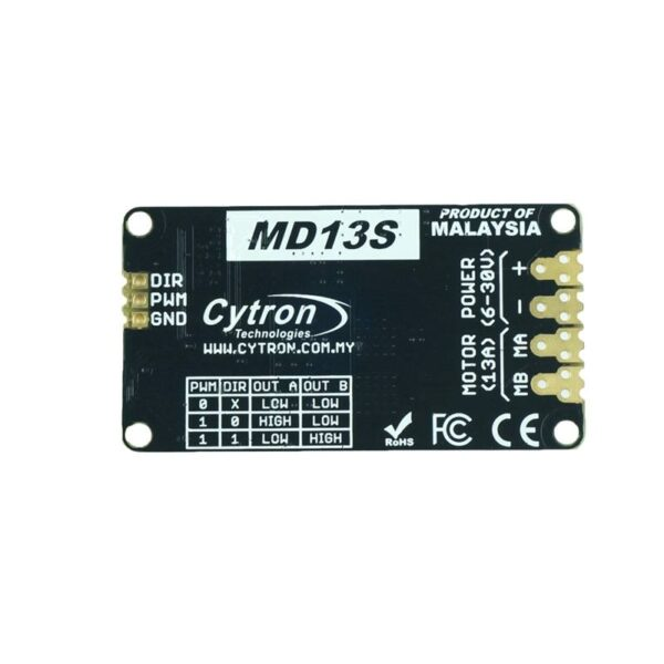 Cytron 13Amp 6V-30V DC Motor Driver-0