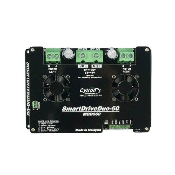 Cytron 60Amp 7V-45V SmartDrive DC Motor Driver (2 Channels)-3190