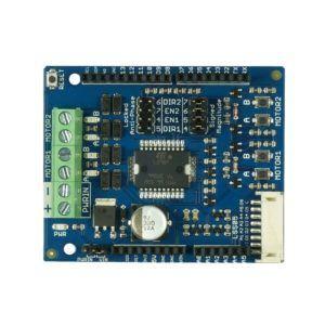 Cytron 0.8Amp 5V-26V DC Motor Driver Shield for Arduino (2 Channels)-0