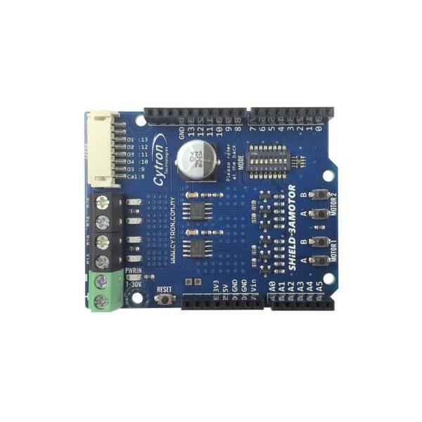 Cytron 1.2Amp 7V-30V DC Motor Driver Shield for Arduino (2 Channels)-3203